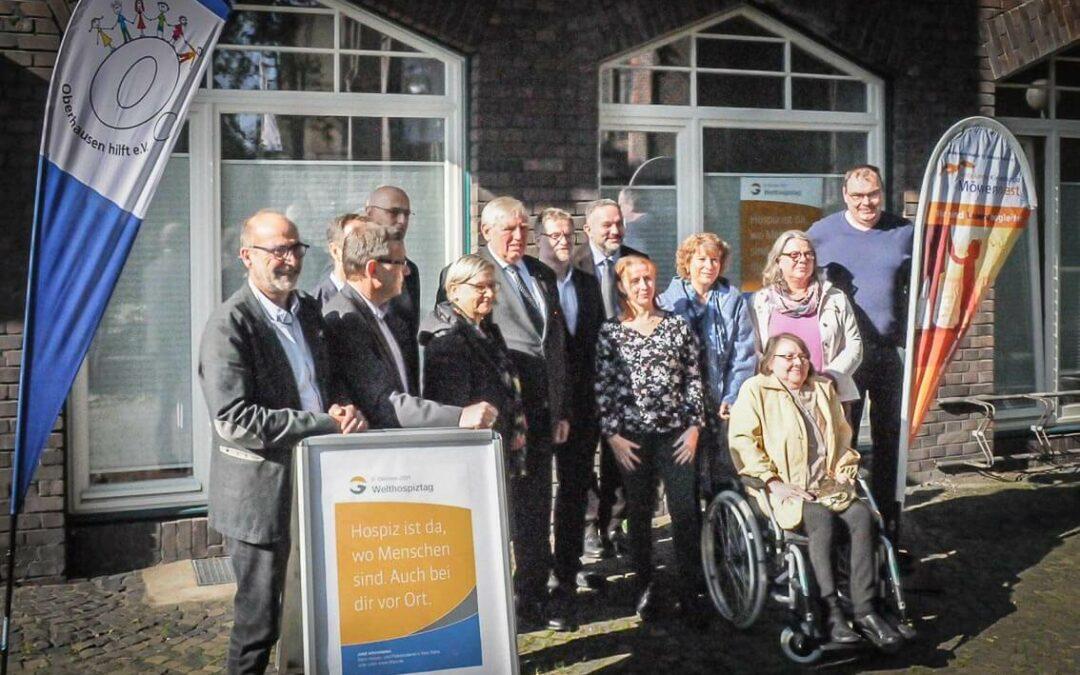 Laumann trifft Mitarbeiter:innen unseres Ambulanten Hospizvereins